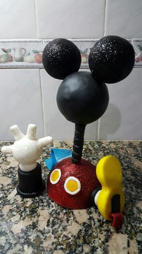 adorno para torta la casa de mickey mouse