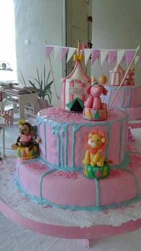 adorno para tortas circo