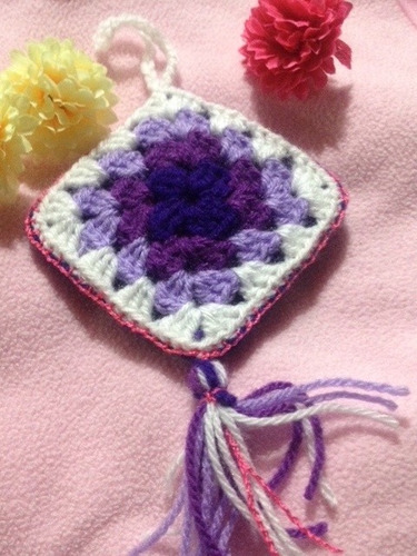 adorno tejido a crochet