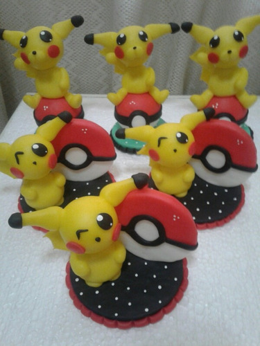 adorno torta pokemon