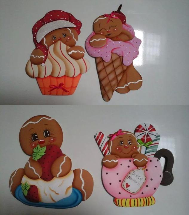 Adornos De Navidad En Foami - Bs. 250,00 en Mercado Libre