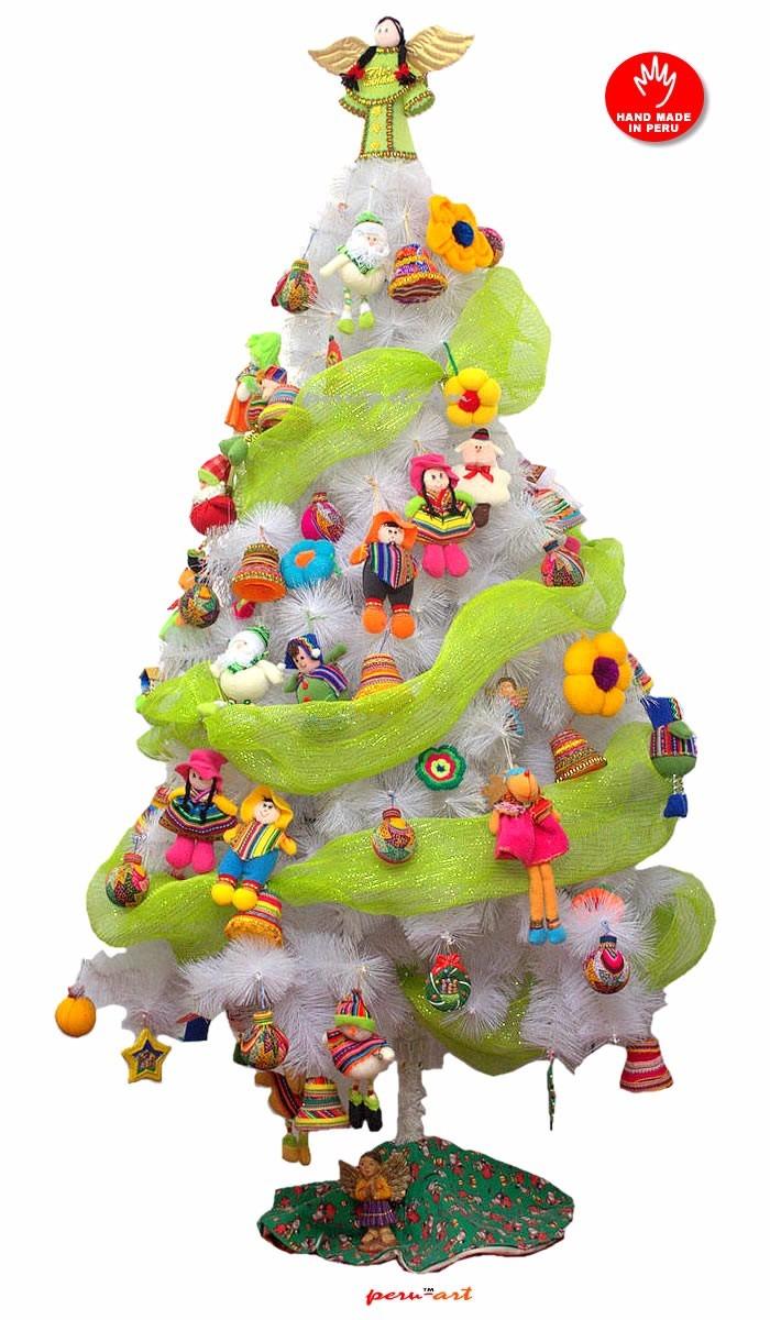 Adornos de navidad para arbol adornos navidad para arbol cholitas artesania regalos arboles de - Adornos navidenos para arbol de navidad ...