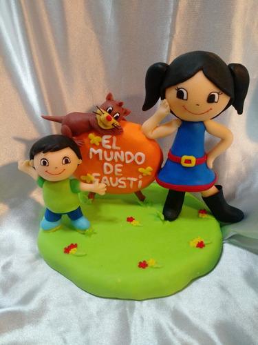 adornos de torta personalizados ( el mundo de luna )