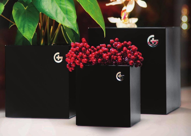 adornos decorativos cubos jarrones modernos minimalistas x3 cargando zoom - Jarrones Modernos