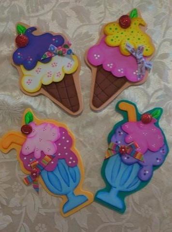 Adornos Decorativos En Foami Para Neveras Bs 450 00 En