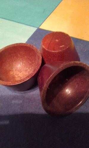 adornos en madera labrada usados en perfecto estado por lote