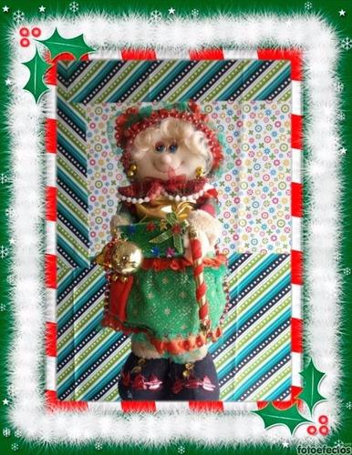 (adornos navideños) bella mama noel - diferentes modelos!
