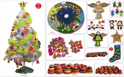 adornos navideños campanas regalos navidad (1/2 docena)