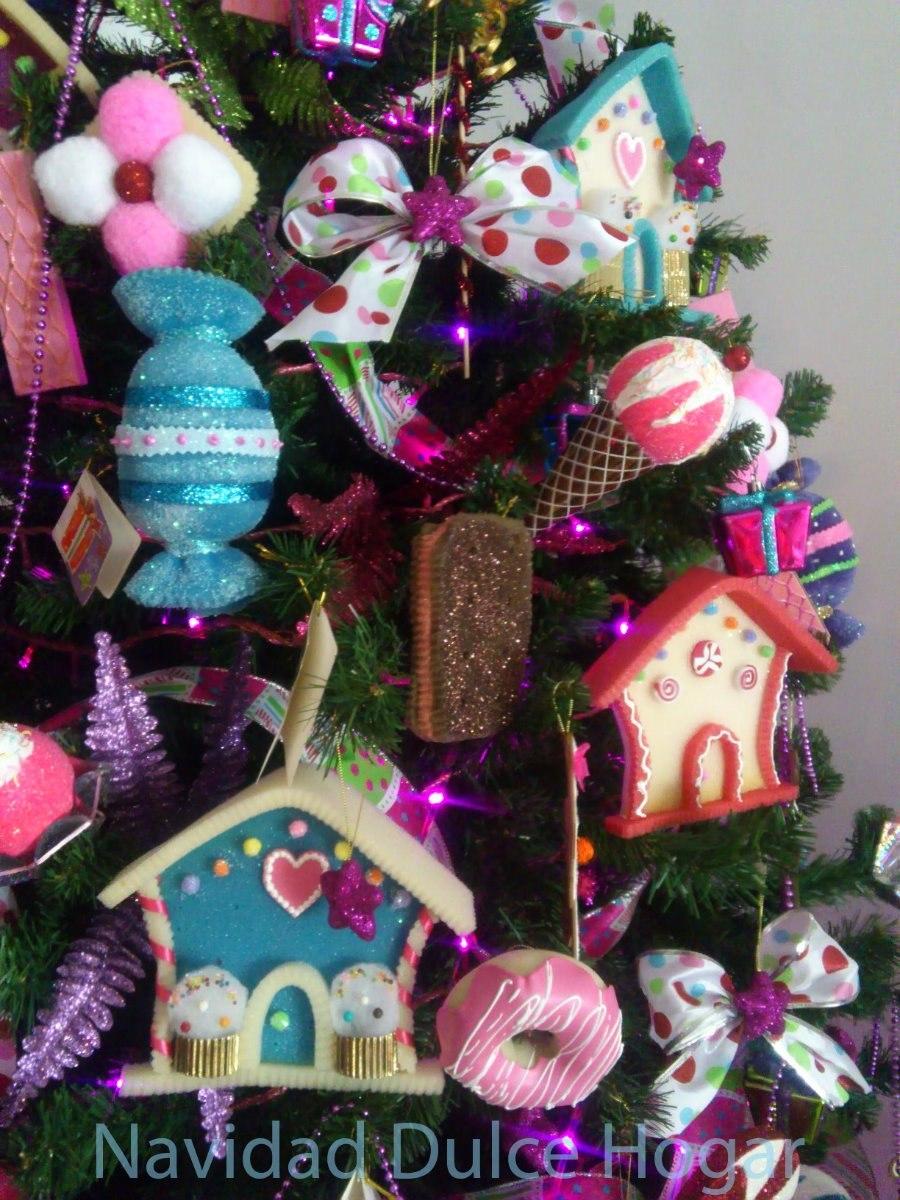 Adornos navide os de dulces para arbol d navidad dulce for Adornos navidenos para el arbol