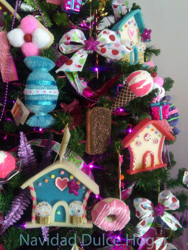 adornos navide os de dulces para arbol d navidad dulce
