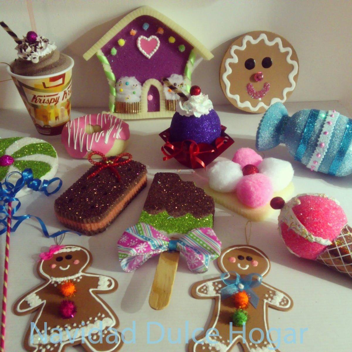 Adornos navide os de dulces para arbol d navidad dulce for Buscar adornos de navidad