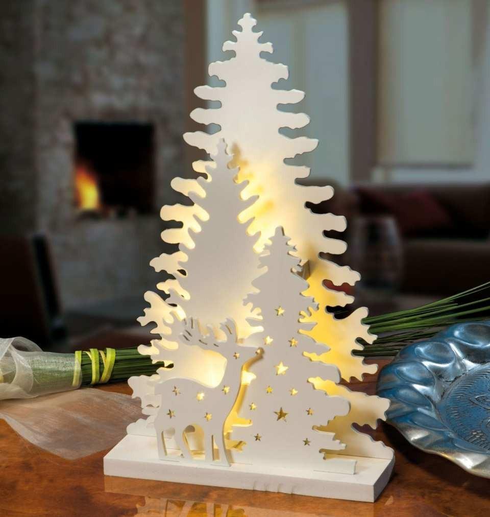 adornos navide os elegantes calados luz led para mesa en mercado libre. Black Bedroom Furniture Sets. Home Design Ideas