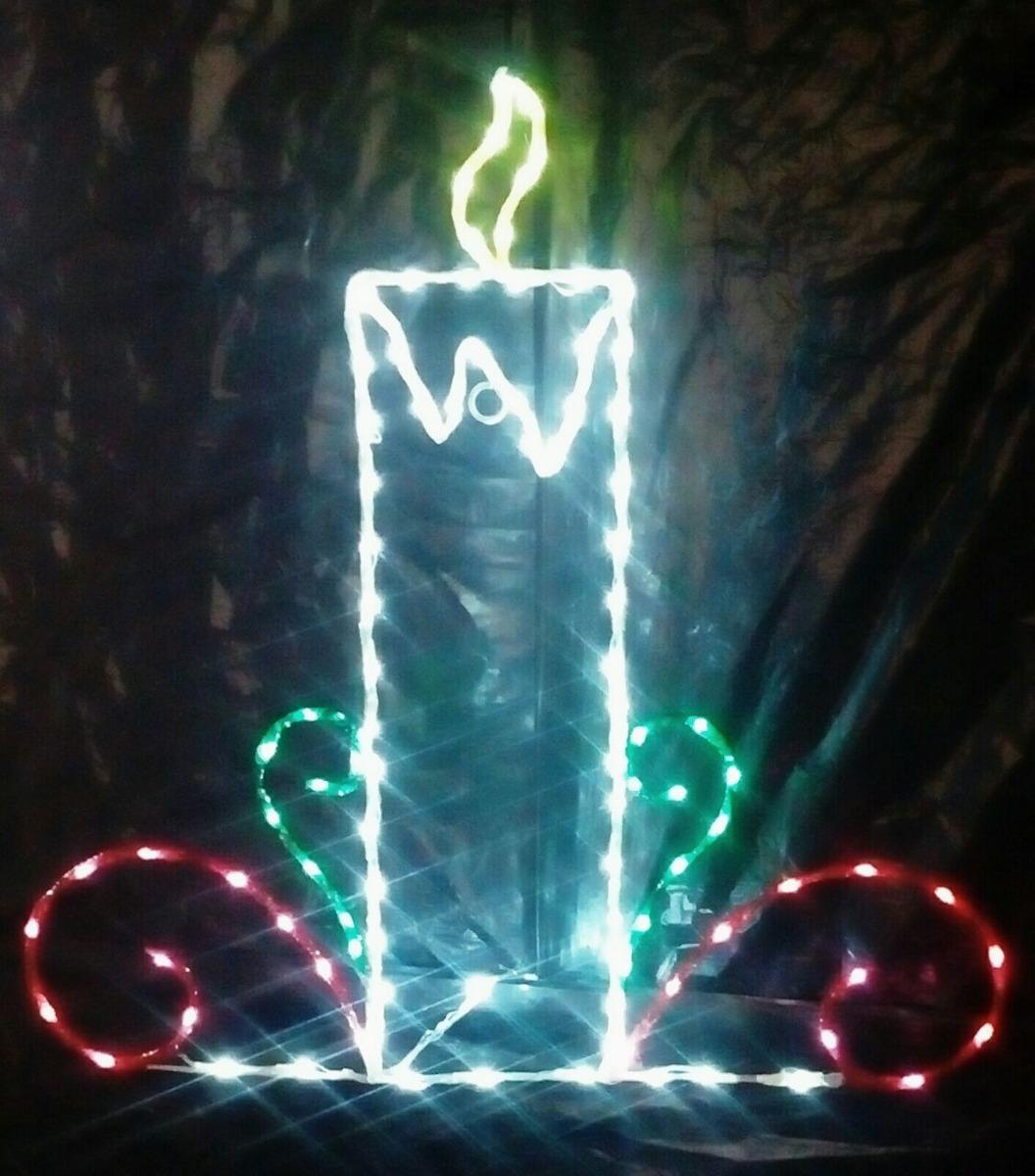 76717fdf370 adornos navideños en fierro con luces led. Cargando zoom.