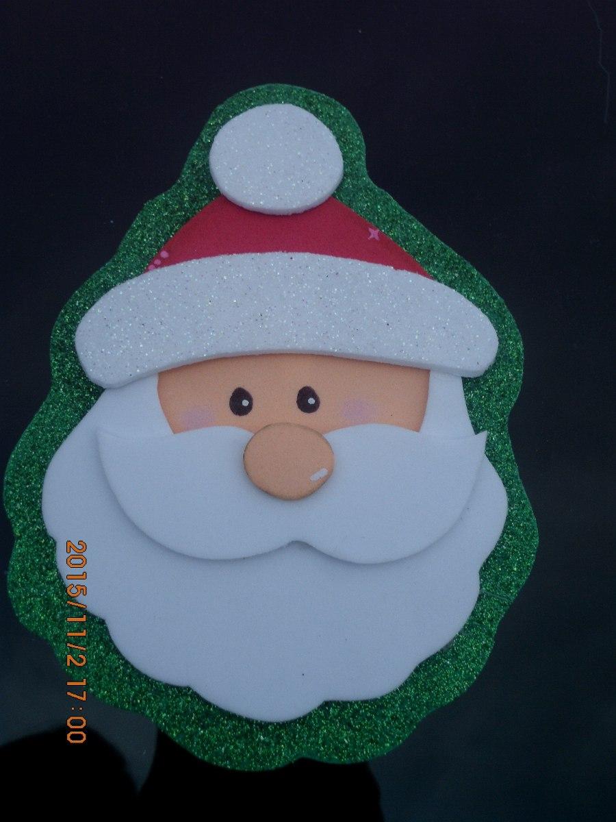 Decoraciones navide as en foami - Adornos navidenos paso a paso ...