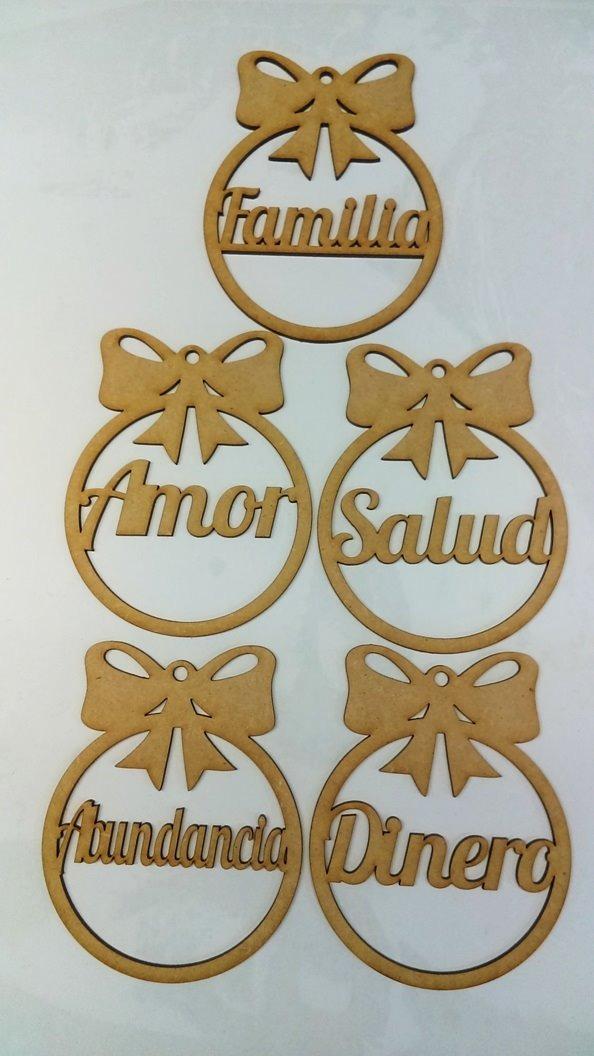 Adornos navide os en madera mdf en mercado libre for Adornos navidenos mercadolibre