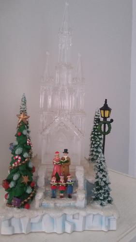 adornos navideños luminoso