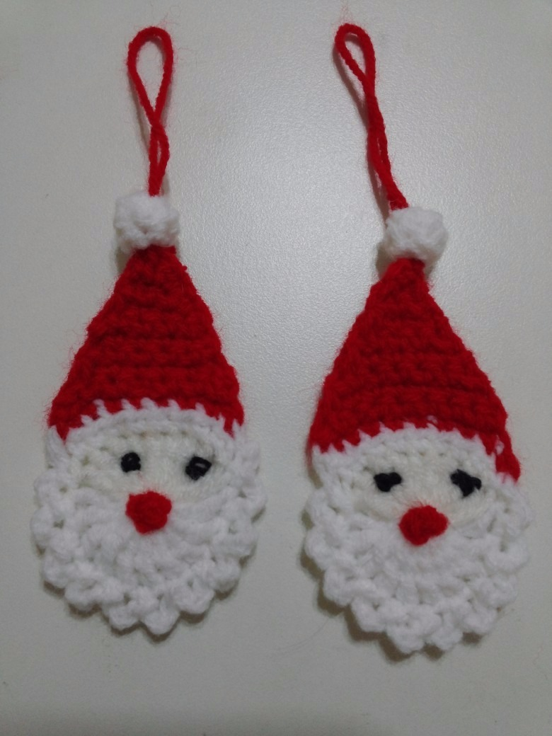 Adornos navidenos tejidos al crochet mercadolibre for Adornos navidenos tejidos a crochet 2016