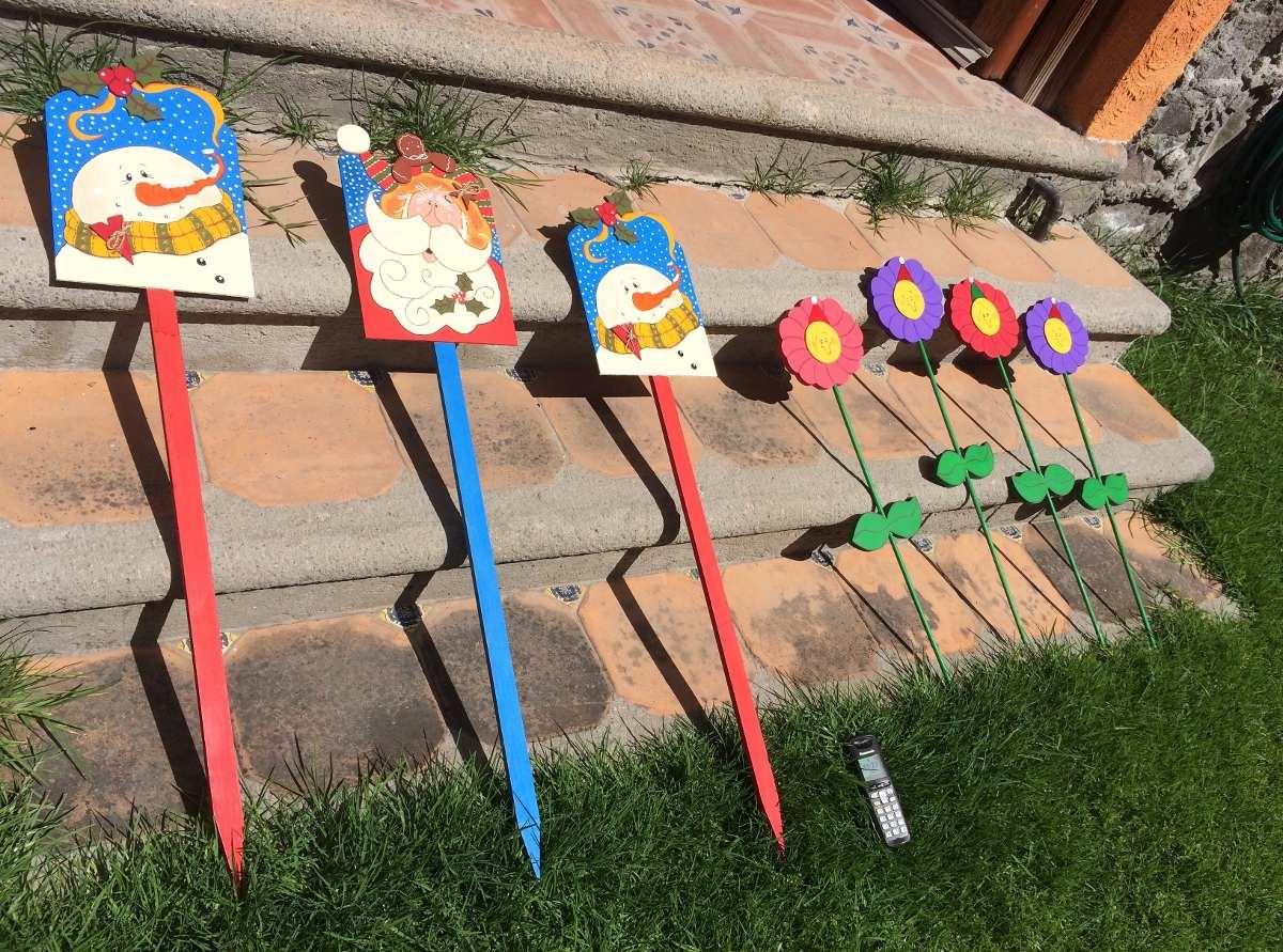 Adornos navide os para jardin en mercado libre - Decoracion relojes de pared ...