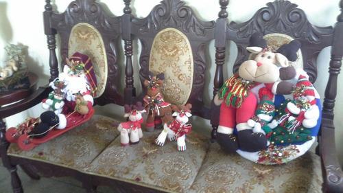 adornos navideños, pie de arbol camino de mesa