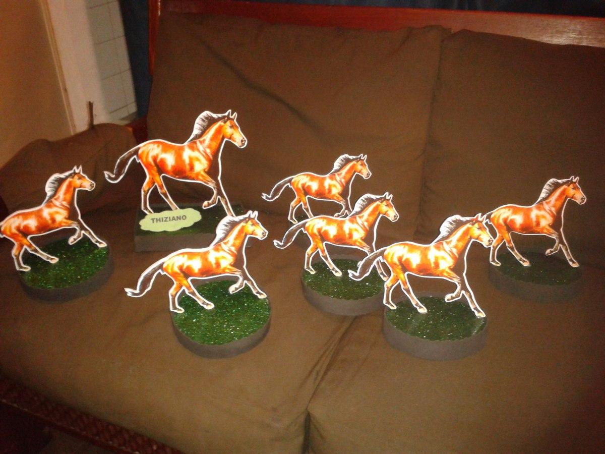 Adornos o centro de mesa caballos 80 00 en mercado libre - Adornos centros de mesa ...