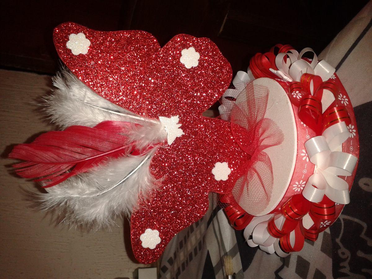 Adornos o centro de mesa mariposa 200 00 en mercado libre for Mariposas de decoracion para pared