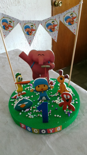 adornos o centro de torta o de mesa