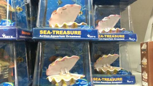 adornos para acuario con movimiento