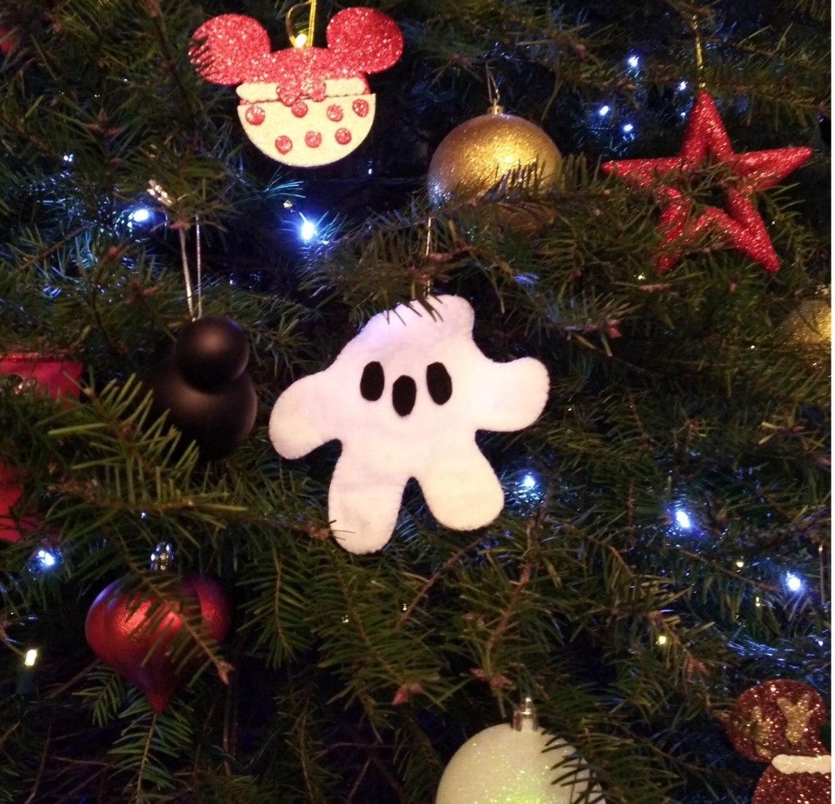 Adornos Para Arbol De Navidad Manitas Mickey Mouse 6 Pzs - $ 100.00 ...