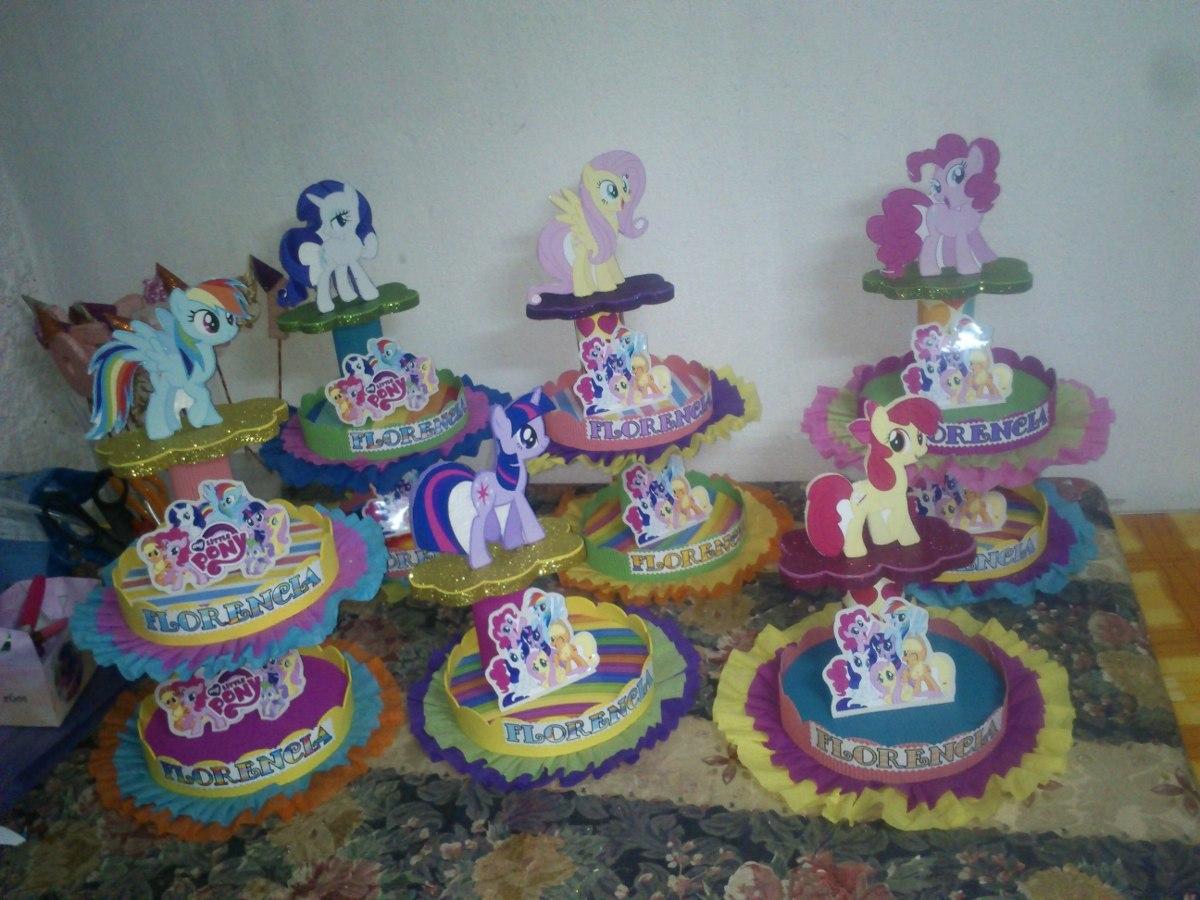 Adornos para tortas centros de mesa my little pony 95 - Adornos para mesa de centro ...
