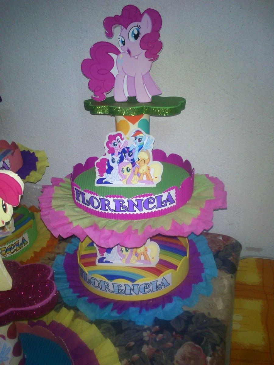 Adornos para tortas centros de mesa my little pony 95 - Adornos de centro de mesa ...