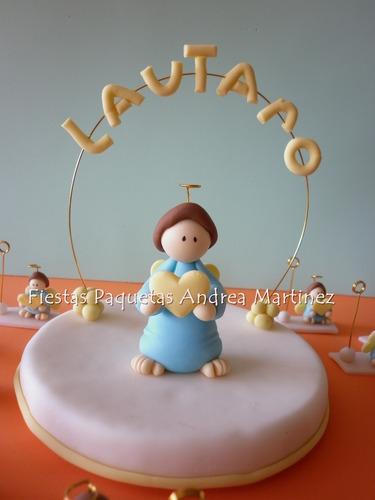 adornos para tortas en porcelana en frio cotillon infantil