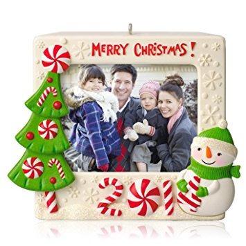 adornos,¡feliz navidad! tenedor de la foto grabable - 20..