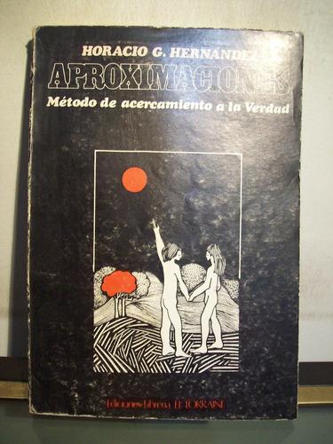 adp aproximaciones horacio hernandez / ed el lorraine 1978