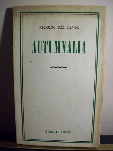 adp autumnalia ricardo del campo / bs. as. 1955