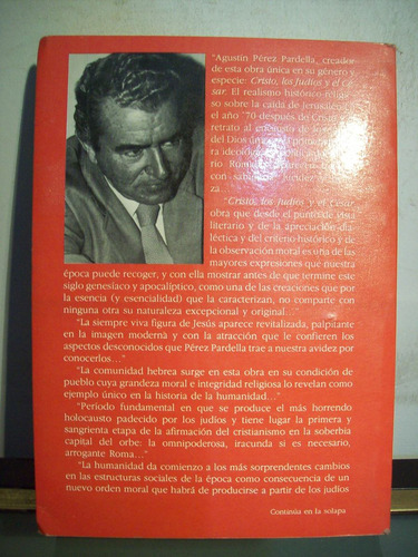adp cristo los judios y el cesar perez pardella / 1991 bs as