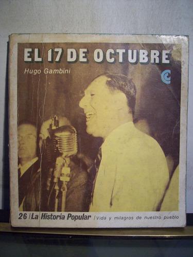 adp el 17 de octubre hugo gambini / 1971 bs. as.