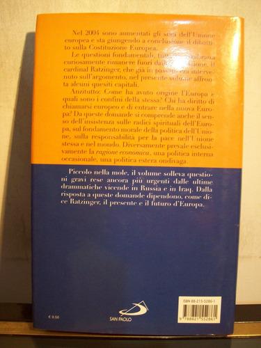 adp europa joseph ratzinger / ed san paolo 2005 milano