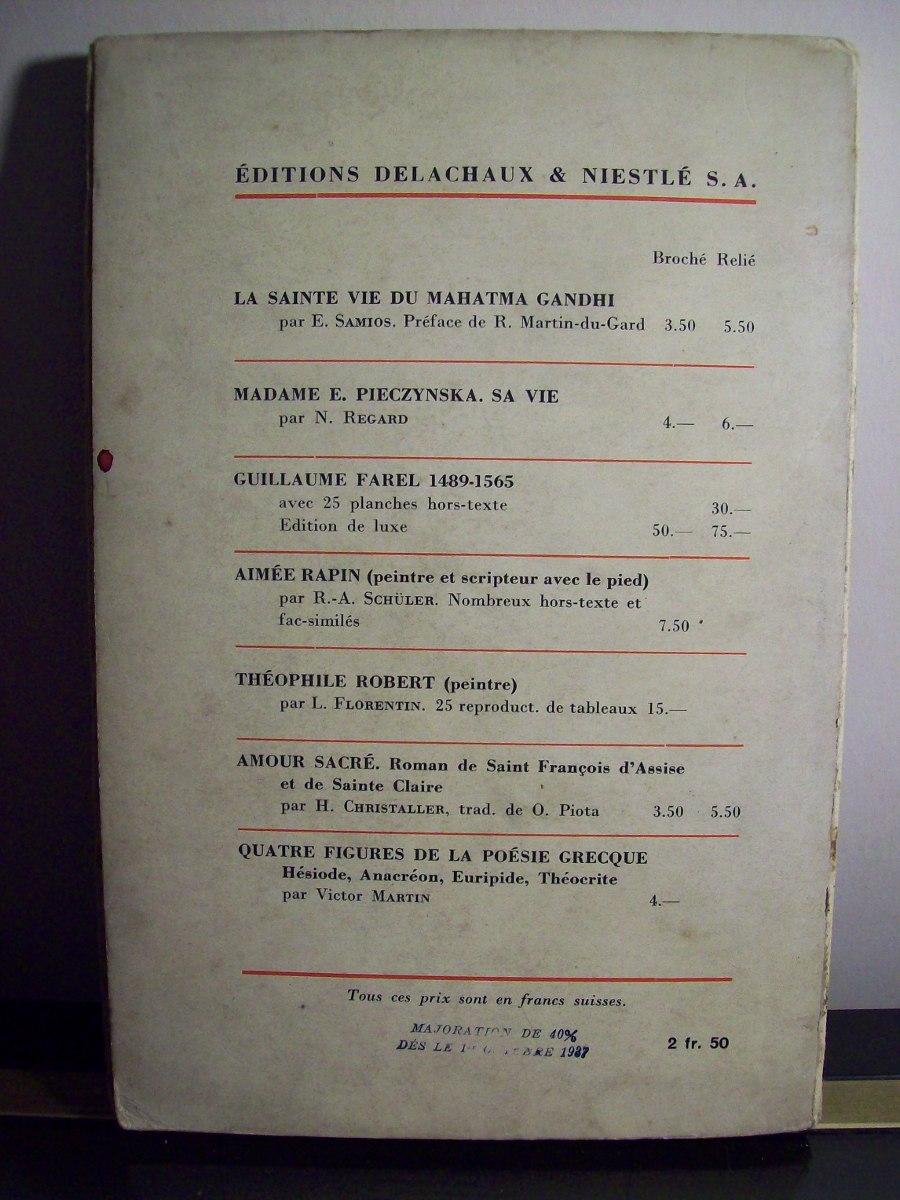 Adp Jean Sebastien Bach Hesselbacher 1937 Suisse