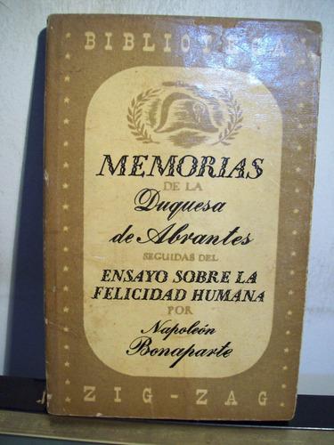adp memorias de la duquesa de abrantes napoleon bonaparte