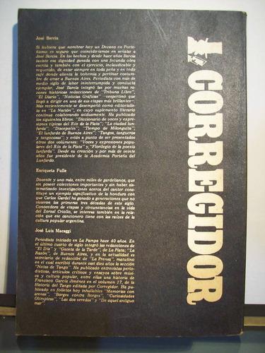 adp primer diccionario gardeliano / ed corregidor 1985 bs as