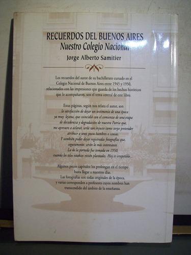 adp recuerdos del bs. as. nuestro colegio nacional samitier