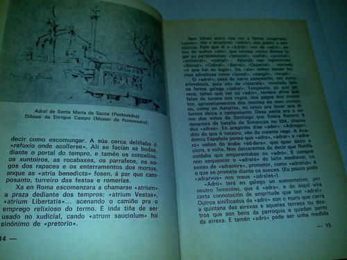 adral (xosé filgueira valverde) 1979 livro raro