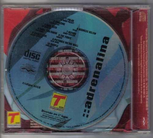 adrenalina - transamérica - cd usado