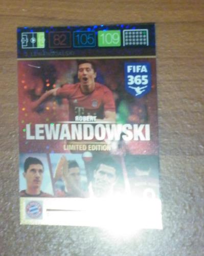 adrenalyn fifa 365 panin set 3 lewan goalski limited edition