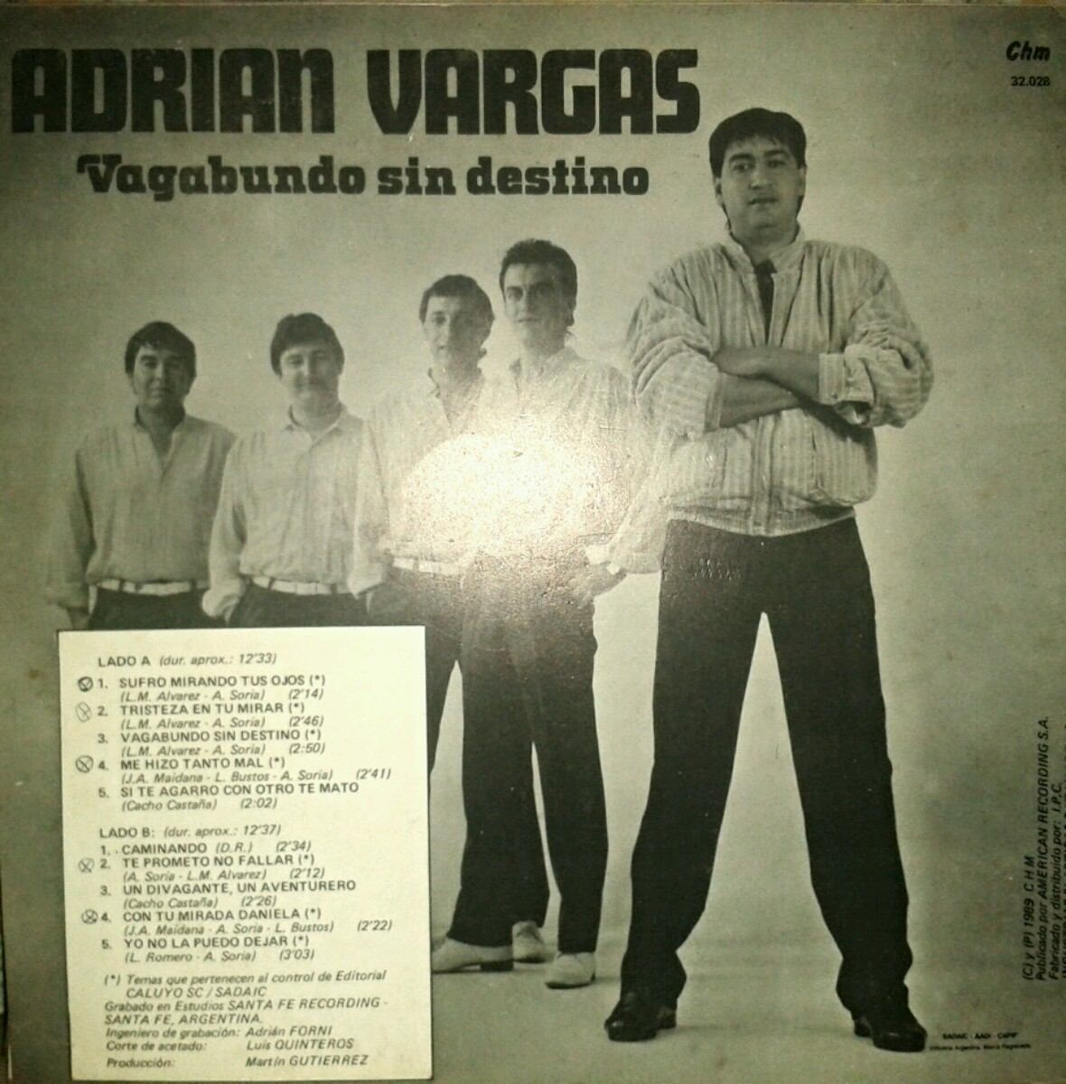 Adrian Vargas Vagabundo Sin Destino
