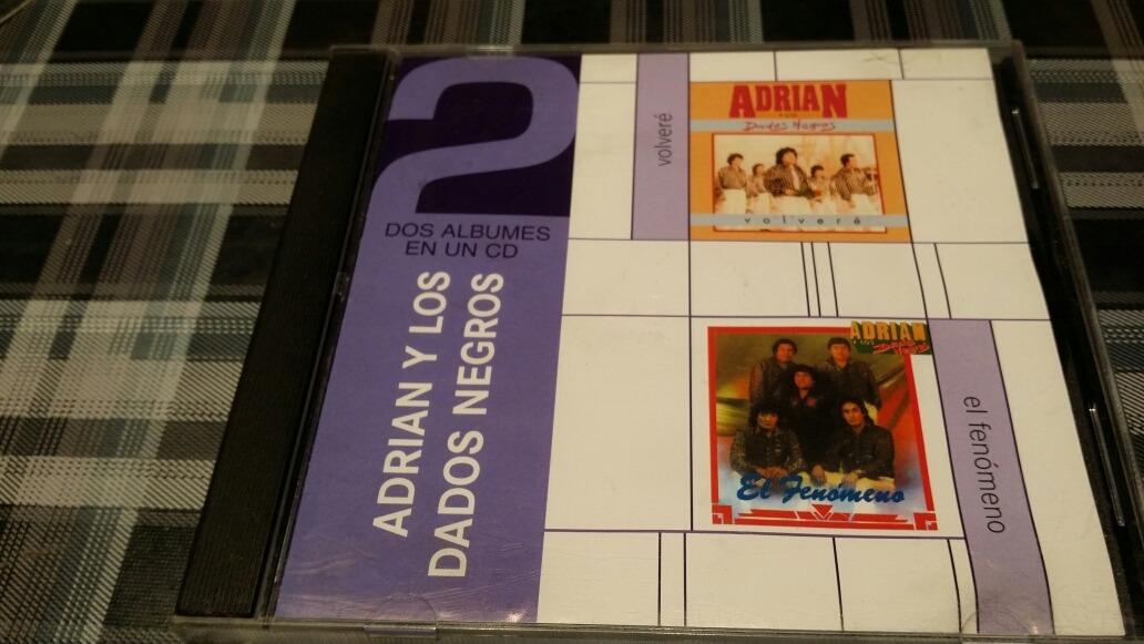adrian y los dados negros 2 albunes en 1 cd original 200 00 en