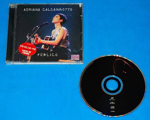 adriana calcanhotto - público - cd - 2000