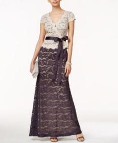 6076b08b4 Vestidos De Noche Largos En Alquiler - Vestidos Violeta oscuro en ...