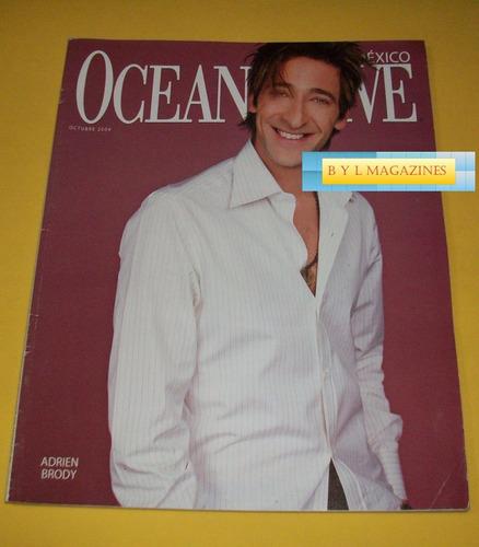 adrien brody revista ocean drive mexico erik rubin madonna