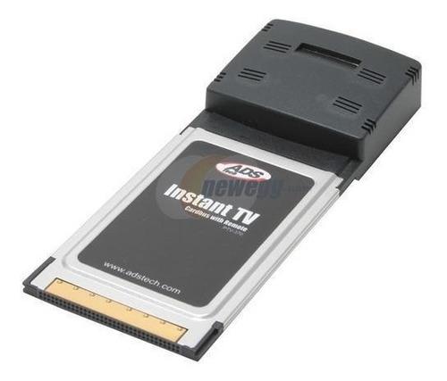 ads cardbus tech ptv-370-ef instant tv tarjeta sintonizadora